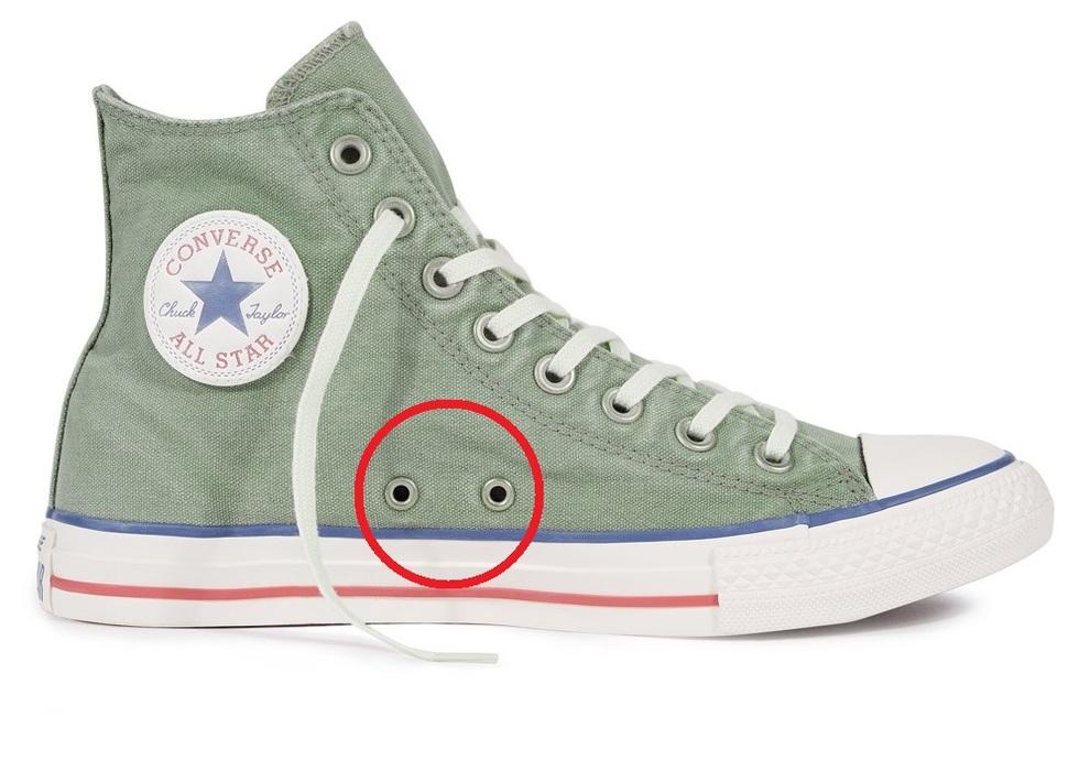 2tutorial lacci scarpe converse