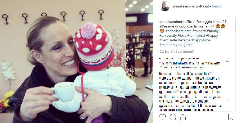 Insultata sui social, Annalisa Minetti risponde