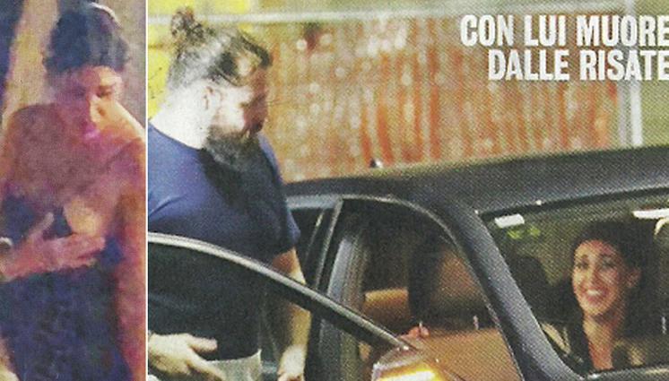 Belen Rodriguez, incidente hot: scatenata nell'uscita con Martin Castrogiovanni