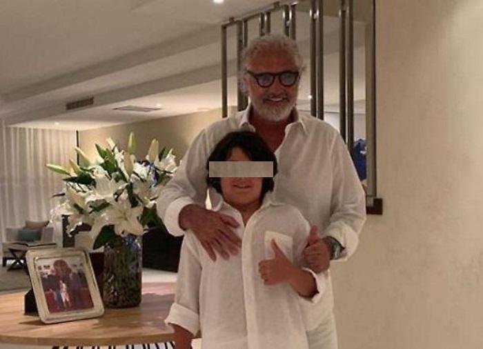 Flavio Briatore risponde agli haters che su Instagram offendono suo figlio