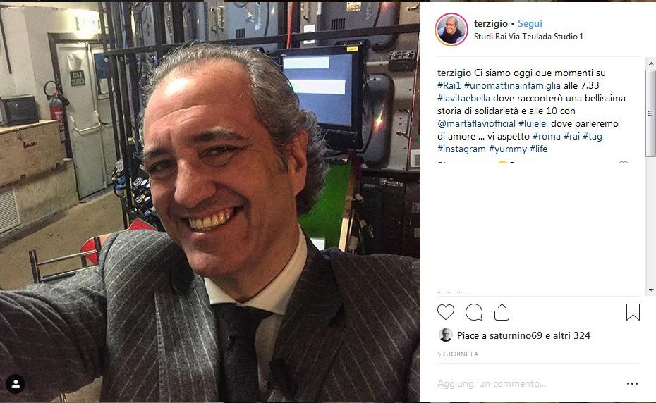 Gerò Carraro dimentica Simona Ventura con la sua amica, Laura Moretti