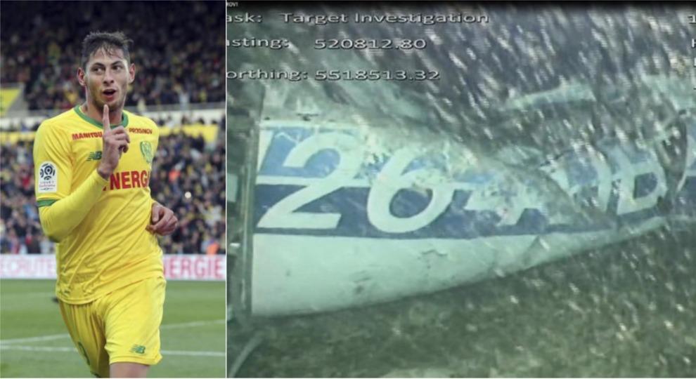 Recuperato il corpo trovato nel relitto dell'aereo: è quello di Emiliano Sala?