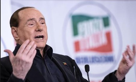 Berlusconi show: