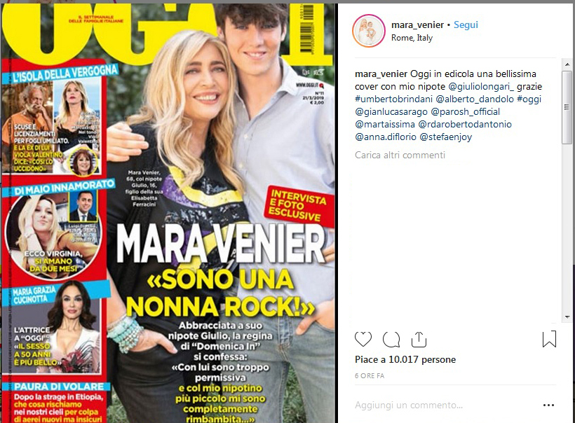 Mara Venier, i competitors di Domenica In?