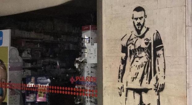 Cancellato murale De Rossi a Ostia. 92enne pensava fosse di Casapound