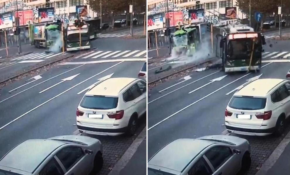 """Risultato immagini per scontro bus camion"""""""