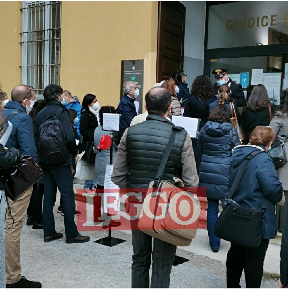 Ufficio del Giudice di Pace di Milano, caos e ...