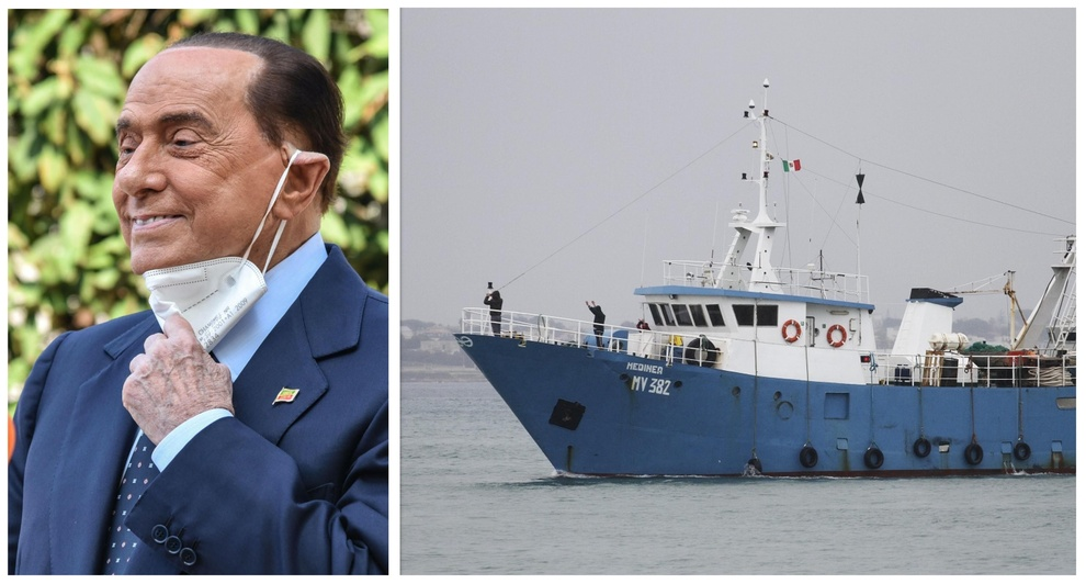 «Pescatori di Mazara liberi grazie a Putin, è amico di Haftar. Me lo ha detto Berlusconi al telefono»