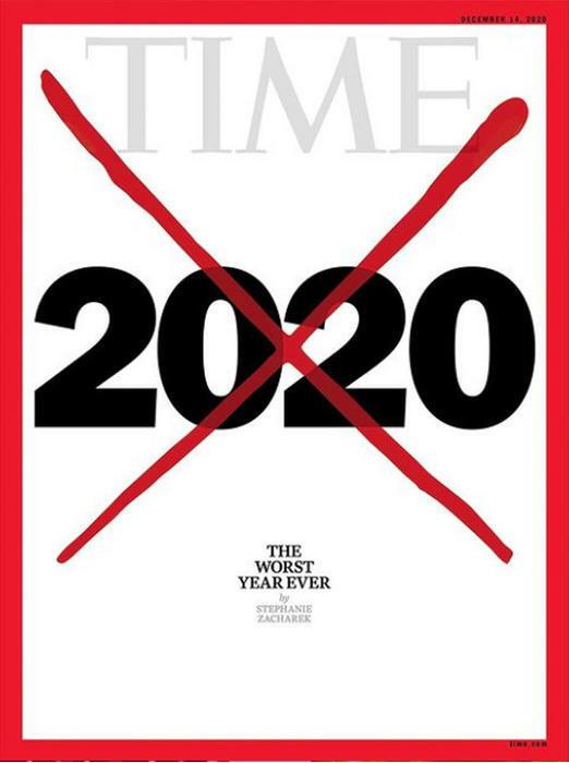 «Il 2020 è il peggior anno di sempre», il Time lo cancella dalla copertina: «Nessuno di noi ha vissuto di peggio»